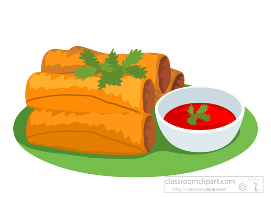 egg-roll-with-red-sauce-food-clipart.jpg