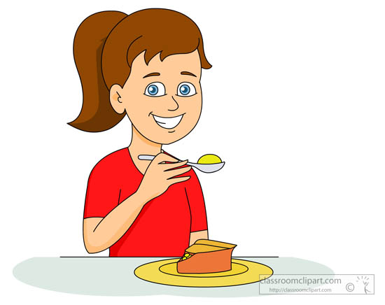Dessert Clipart Clipart- girl-eating-apple-pie-dessert-326 ...