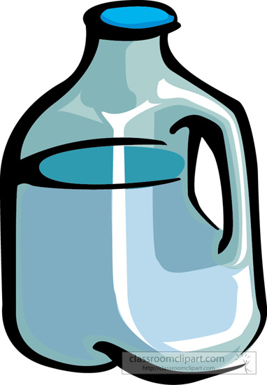 Drink and Beverage Clipart : gallon-of-milk-3 : Classroom ...