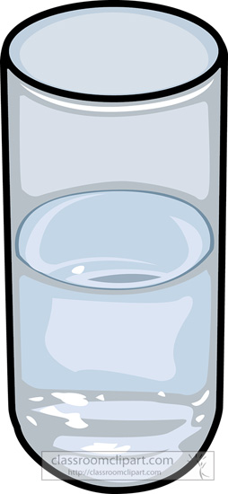 Drink and Beverage Clipart : glass-of-water-10 : Classroom Clipart