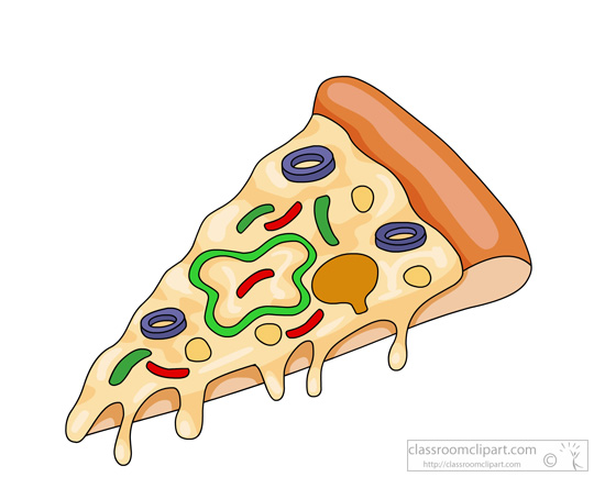 Fast Food Clipart : slice-of-pizza-clipart-957 : Classroom ...