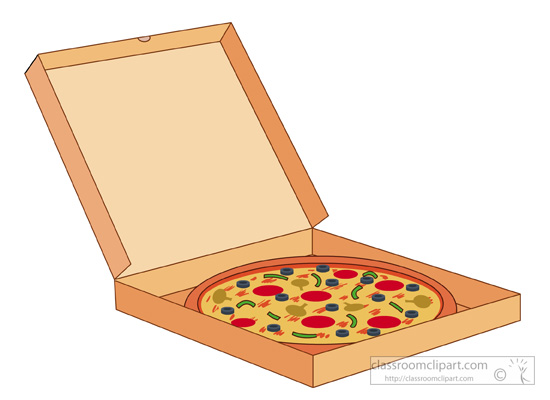 Open Pizza Box Clip Art, Open, Free Engine Image For User ...