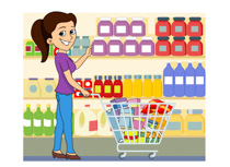 Clip Art Grocery Store Clip Art free grocery clipart pictures illustrations clip art and graphics lady shopping at store size 128 kb