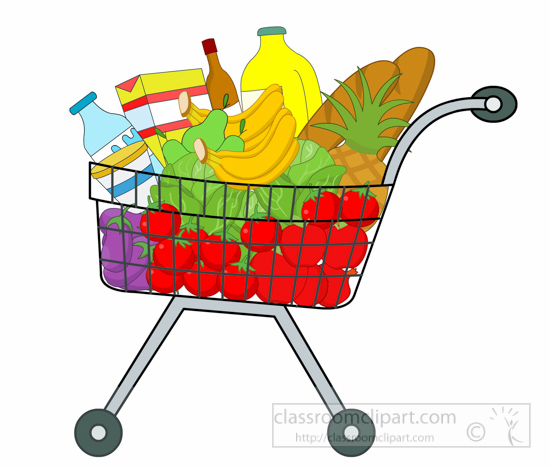 Grocery Clipart : shopping-cart-full-of-grocery-clipart ...