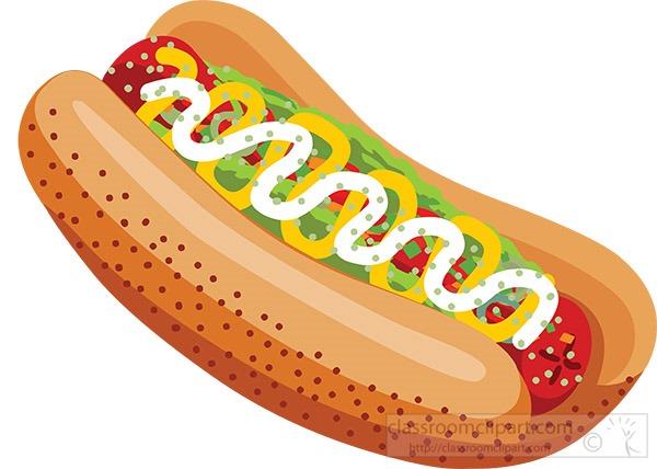 hot-dog-with-vegitables-clipart.jpg