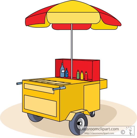Hot Dog Trolley For Sale
