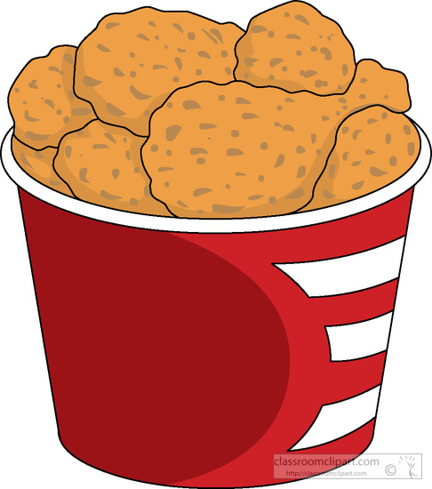 Meat Clipart Clipart- bucket-fried-chicken-clipart-5185 ...