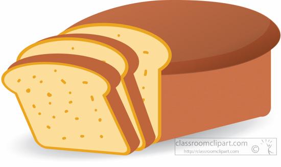 food clipart loaf sliced bread clipart 5121 classroom clipart rh classroomclipart com beard clip art transparent bread clip art black and white