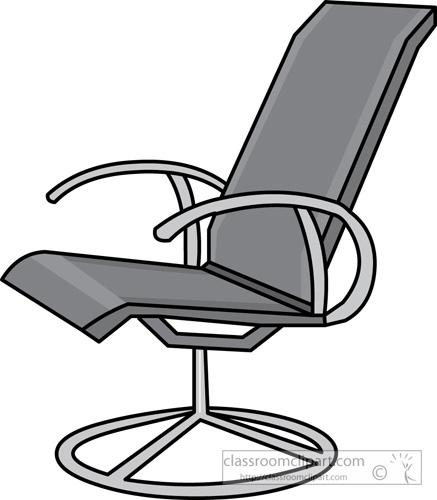Modern Classroom Clipart ~ Furniture clipart modern swivel chair classroom