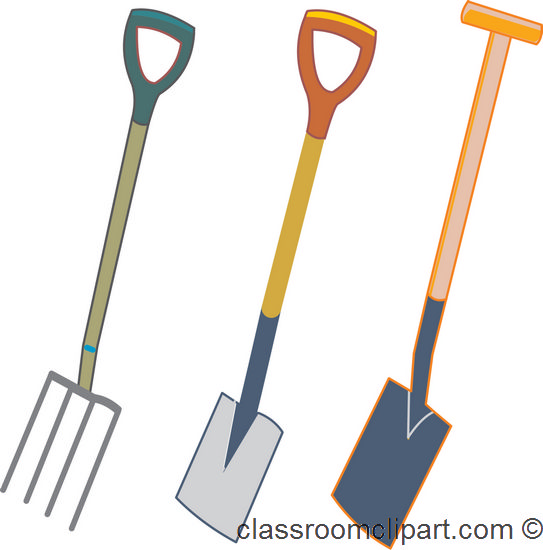 Yard tools clip art cliparts for Gardening tools clipart