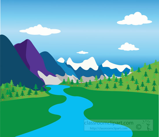 Geography : mountains-with-river-and-valley-geography ...