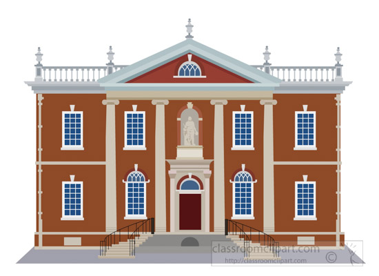 old-city-library-hall-with-statue-of-benjamin-franklin-philadelphia-clipart-7117.jpg