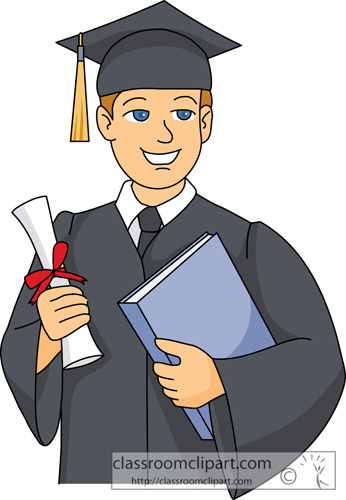 graduation clipart graduate holding diploma in hand classroom clipart rh classroomclipart com graduation clipart purple graduation clipart purple