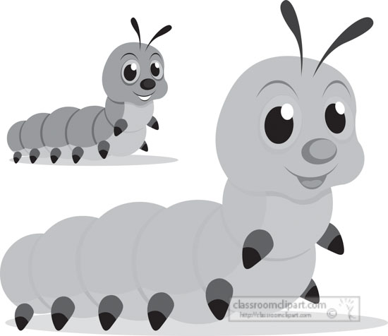 caterpillar-insect-gray-clipart.jpg