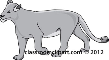 lioness_clipart_212_gray.jpg
