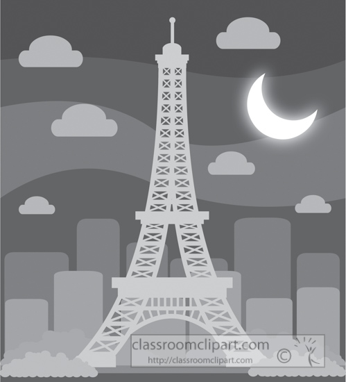 eiffel-tower-paris-france-at-night-with-moon-gray-clipart.jpg