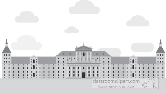 el-escorial-home-of-king-spain-gray-clipart.jpg