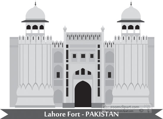 lahore-fort-pakistan-gray-clipart.jpg