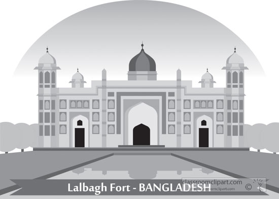 lalbagh-fort-landmark-bangladesh-gray-clipart.jpg