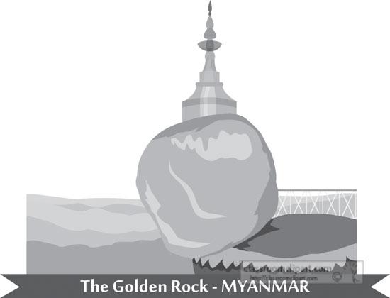 the-golden-rock-myanmar-gray-clipart.jpg