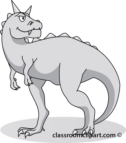 carnotaurus_clipart_10B_gray.jpg