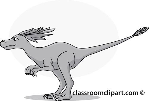syntarsus_dinosuar_clipart_09A_gray.jpg