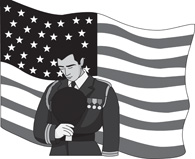 Veterans Day Clip Art Free Black And White