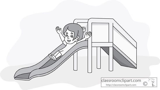 girl_going_down_playground_slide_gray.jpg