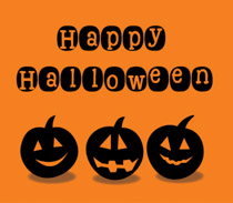 happy halloween in graveyard clipart size 161 kb from halloween