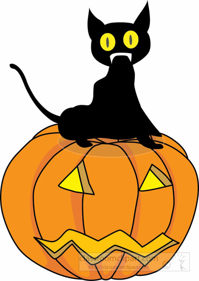 clipart halloween cat - photo #30