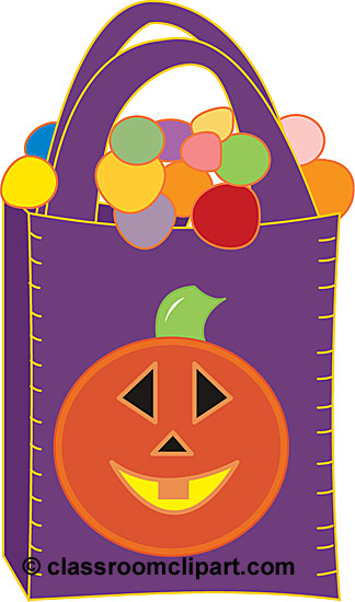 Halloween Clipart - halloween_bags_with_candy - Classroom ...