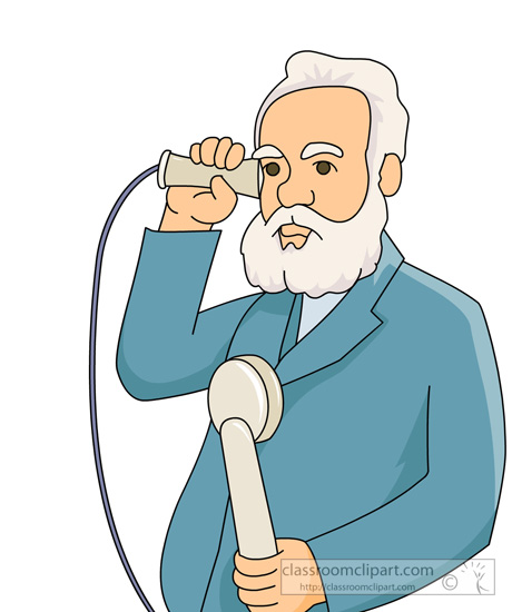 history clipart alexander graham bell using his invention the telephone classroom clipart anchor clip art black and white anchor clip art vector