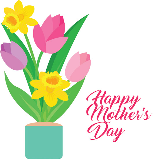 Mothers Day Clipart Happy Mothers Day Flowers Clipart Classroom