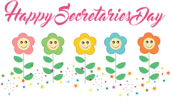 Seems happy administrative professionals day clip art the