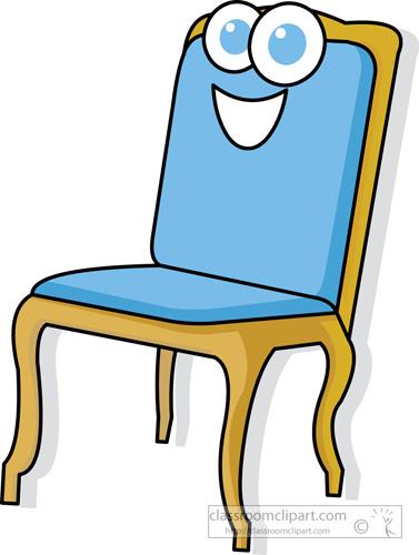 Home : chair_cartoon_character : Classroom Clipart
