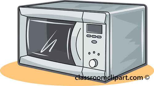 Household Clipart Microwave 717r Classroom Clipart