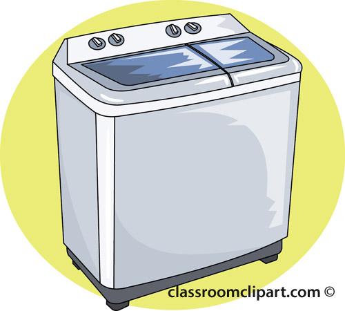 Clip Art Washing Machine ~ Household wash machine r classroom clipart