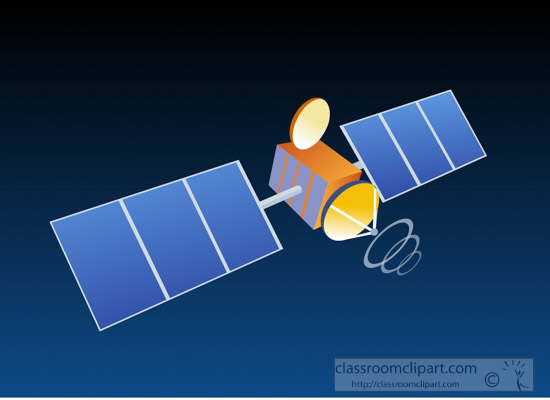 Inventions Clipart- invention communication satellite ...