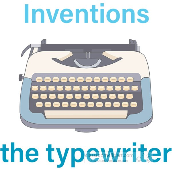 inventions-the-typewriter-clipart.jpg