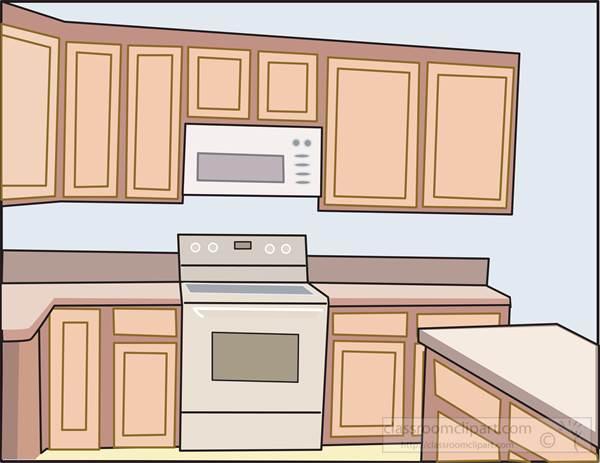 Kitchen Images on Kitchen   Interior Kitchen 140   Classroom Clipart
