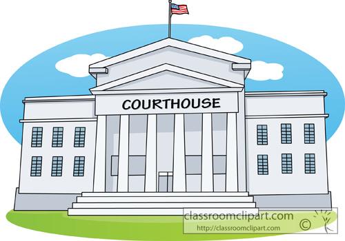 Court Building Clipart