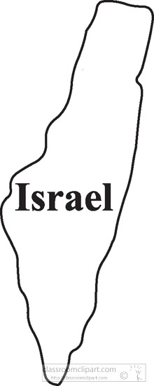 Israel-outline-map-clipart.jpg