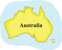 Australia Map Clipart.Search Results For Australia Map Clip Art Pictures Graphics