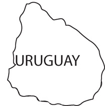 Search Results For Uruguay South America Map Country Clip Art - Uruguay blank map
