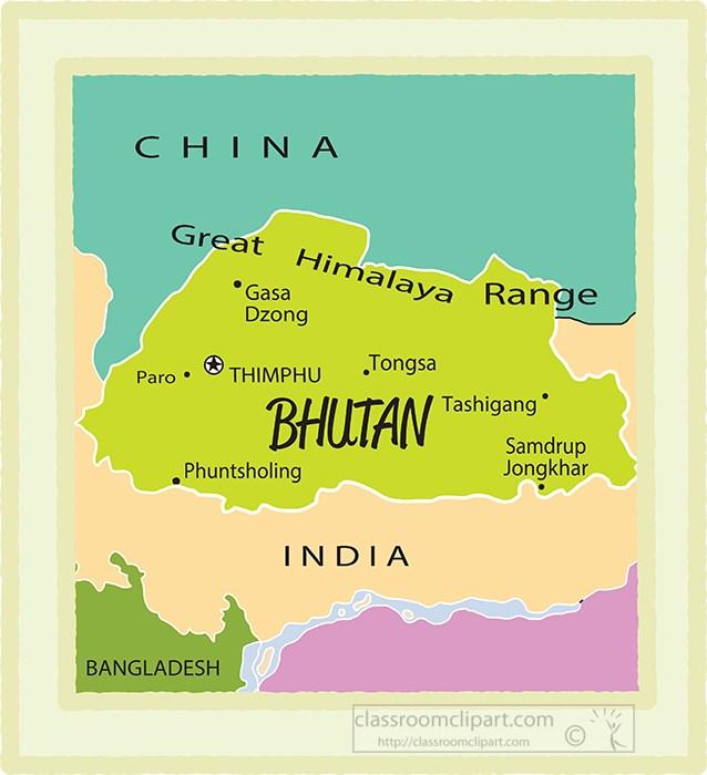 bhutan-country-map-color-border-clipart.jpg