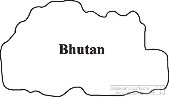 bhutan-outline-map-clipart.jpg