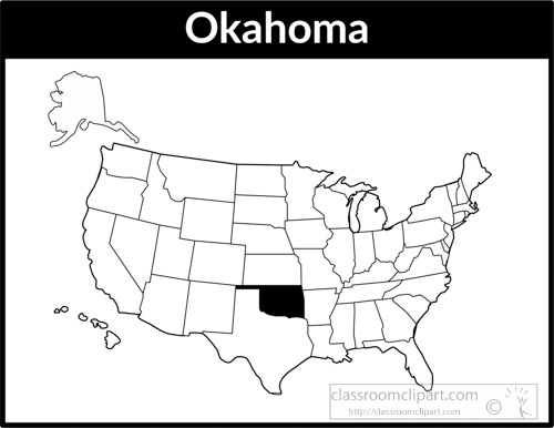 Search Results For Oklahoma Clip Art Pictures Graphics - Oklahoma in us map