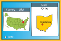 Search Results For Columbus Clip Art Pictures Graphics - Columbus ohio on a us map