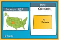 Denver Colorado State Map Stamp Clipart 2 Denver Colorado State Map Stamp Clipart Size 153 Kb From Us State Maps
