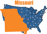 Jefferson City Missouri 2 State Us Map With Capital Clipart Jefferson City Missouri State Us Map With Capital Size 113 Kb From Us State Maps